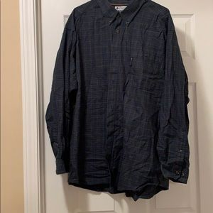 Columbia button up shirt